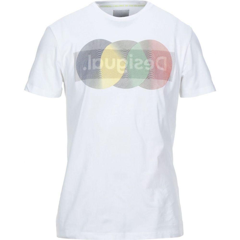 デジグアル DESIGUAL メンズ Tシャツ トップス【t-shirt】White