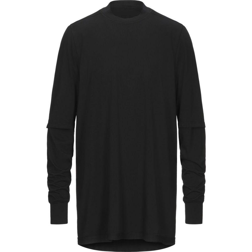 ダークシャドウ DRKSHDW by RICK OWENS メンズ Tシャツ トップス【t-shirt】Black