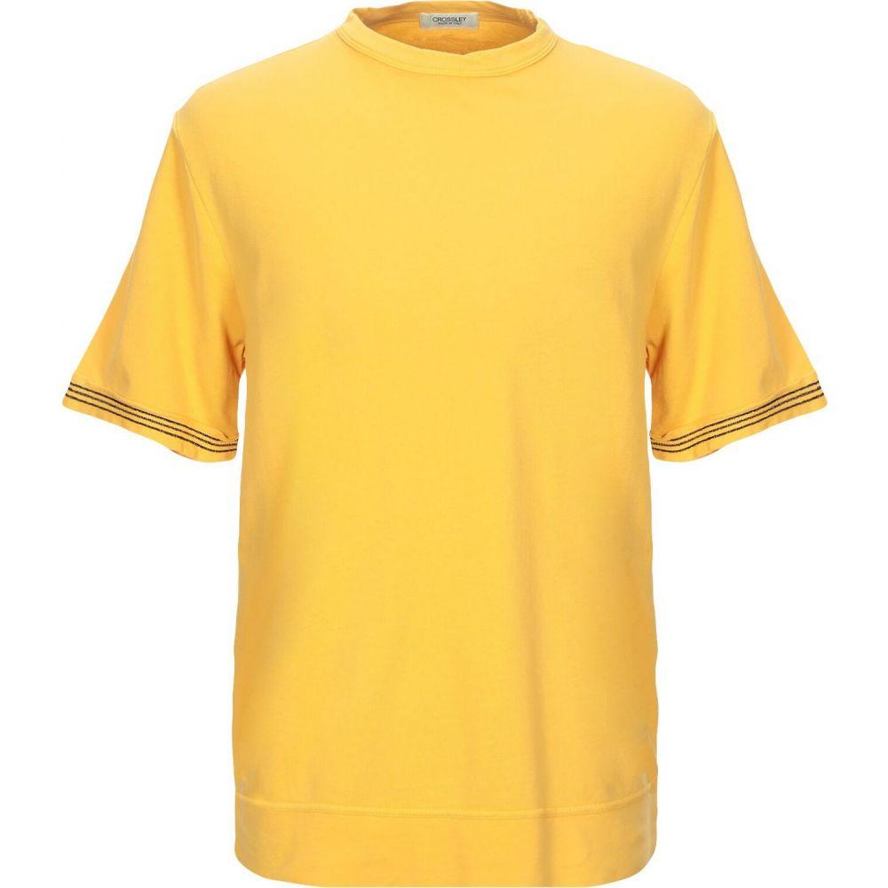 クロスリー CROSSLEY メンズ Tシャツ トップス【t-shirt】Ocher