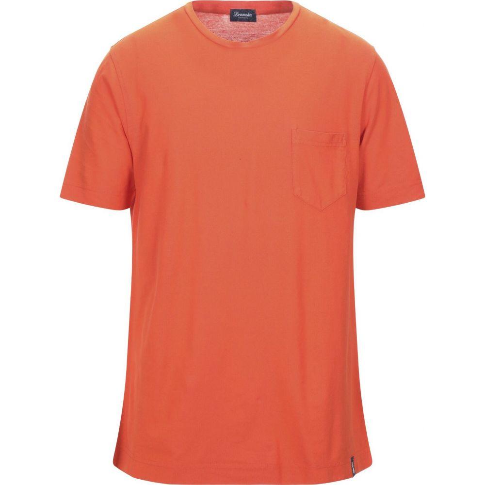 ドルモア DRUMOHR メンズ Tシャツ トップス【t-shirt】Orange