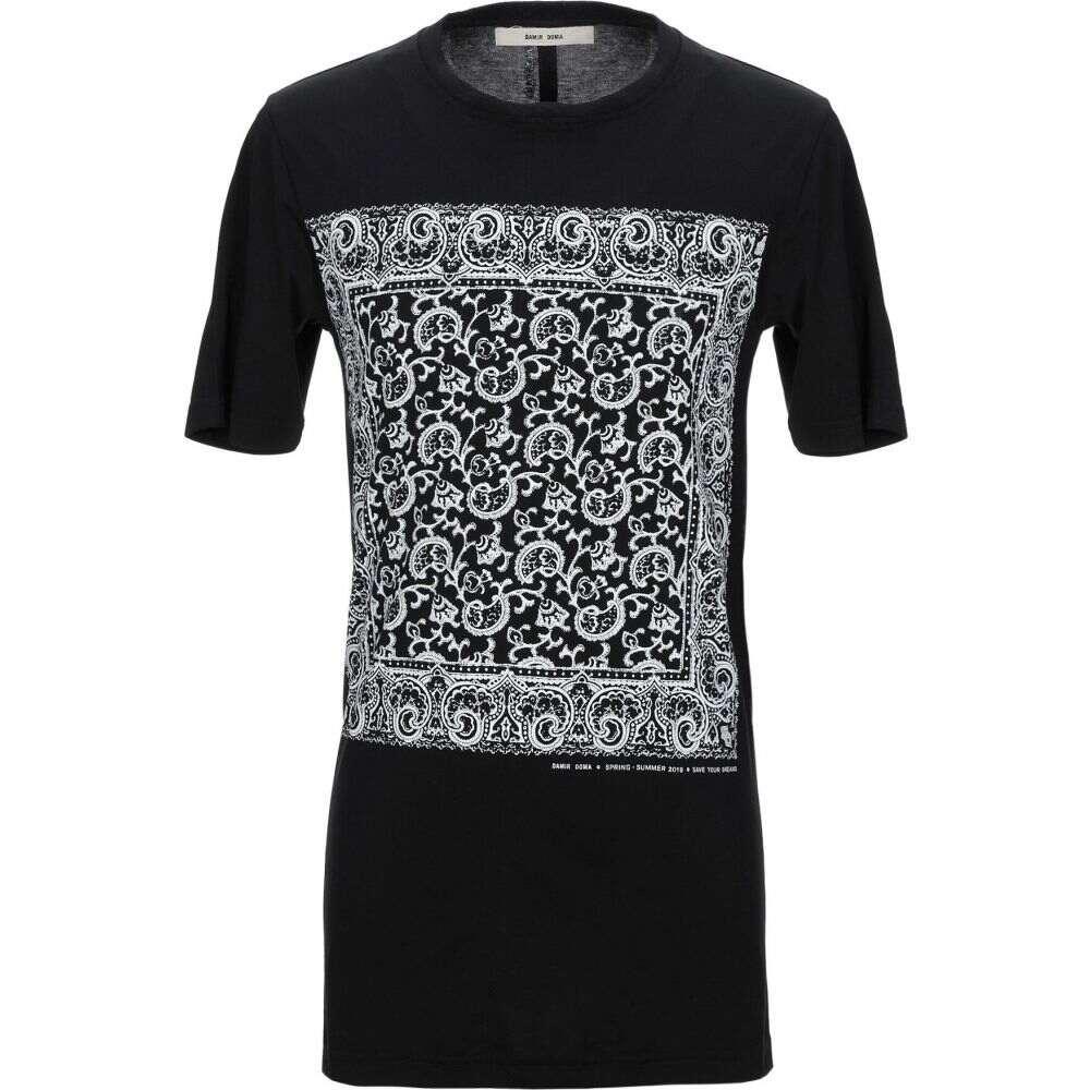 ダミール ドマ DAMIR DOMA メンズ Tシャツ トップス【t-shirt】Black