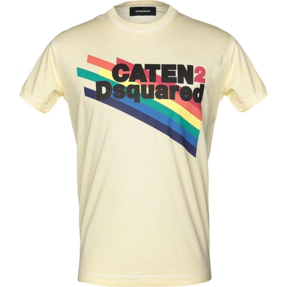 ディースクエアード DSQUARED2 メンズ Tシャツ トップス【t-shirt】Light yellow