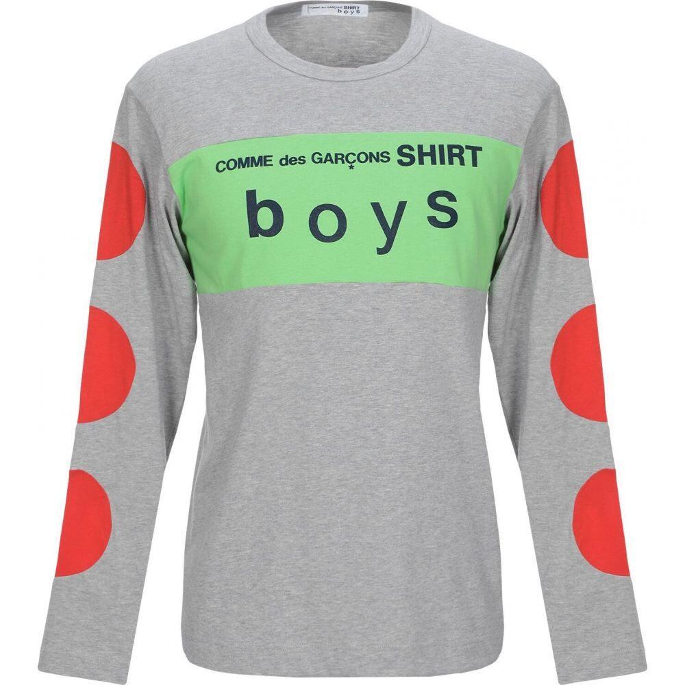 コム デ ギャルソン COMME des GARCONS SHIRT メンズ Tシャツ トップス【t-shirt】Grey