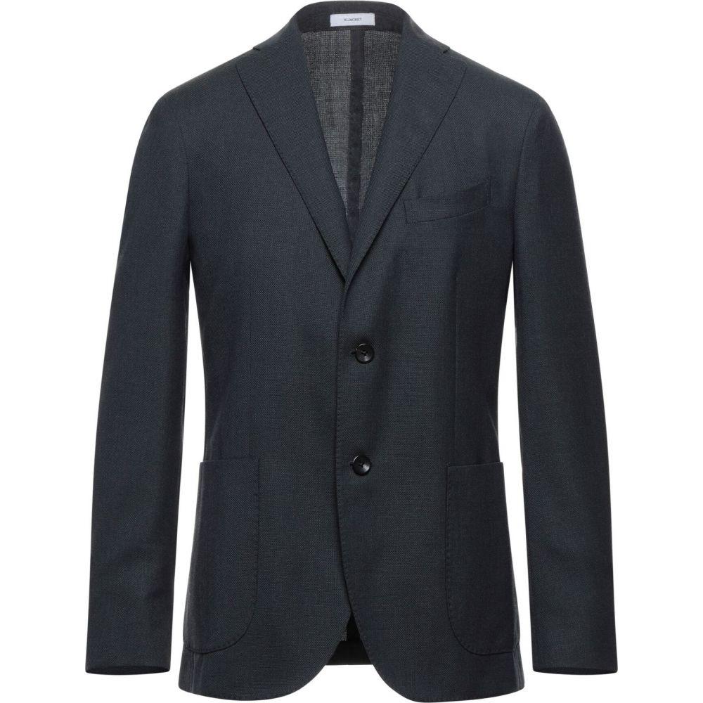 ボリオリ ハイクオリティ メンズ アウター スーツ 捧呈 ジャケット サイズ交換無料 blazer Steel grey BOGLIOLI
