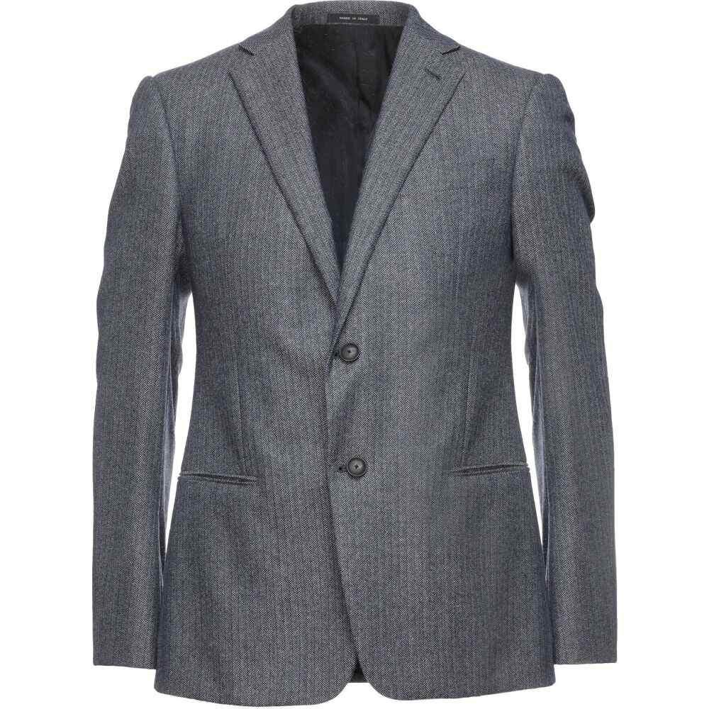 開店祝い アルマーニ blue EMPORIO ARMANI メンズ スーツ・ジャケット ARMANI アウター メンズ【blazer】Dark blue, 石川市:30be965a --- eraamaderngo.in