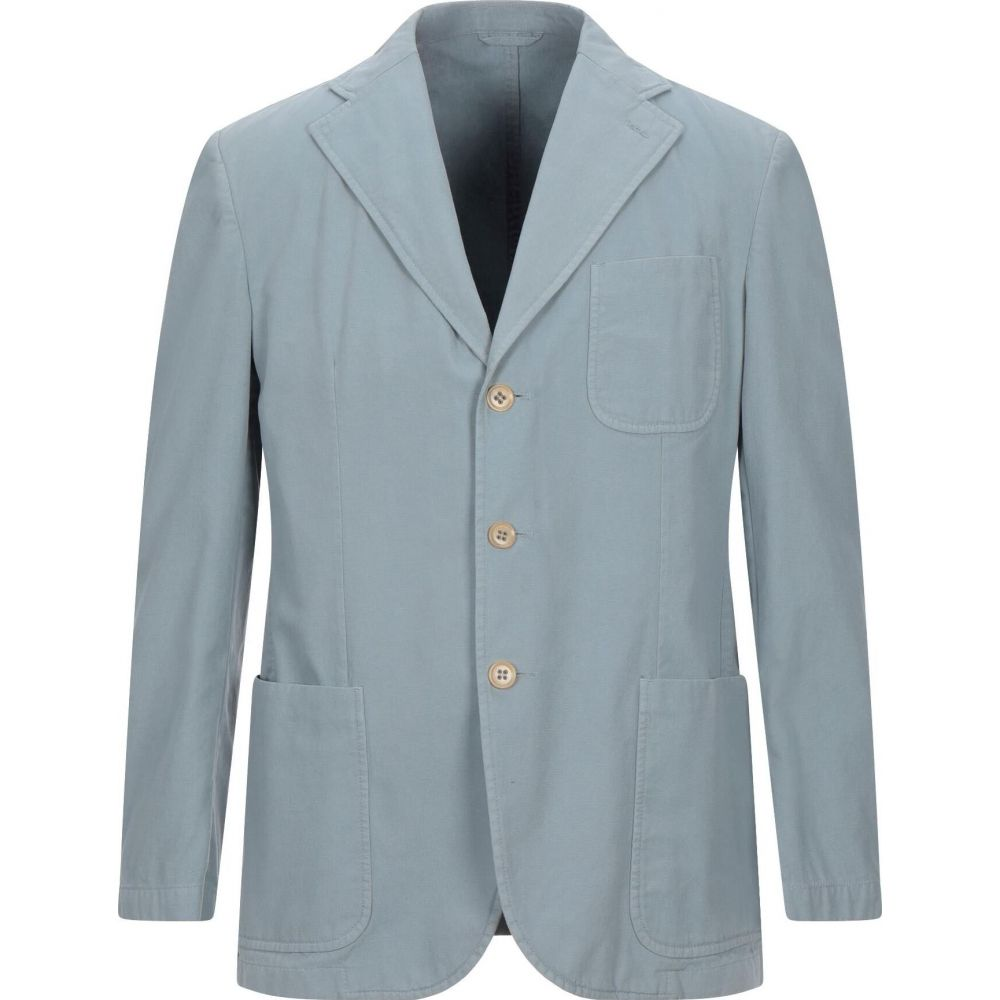 ルビアム LUBIAM メンズ スーツ・ジャケット アウター【blazer】Sky blue