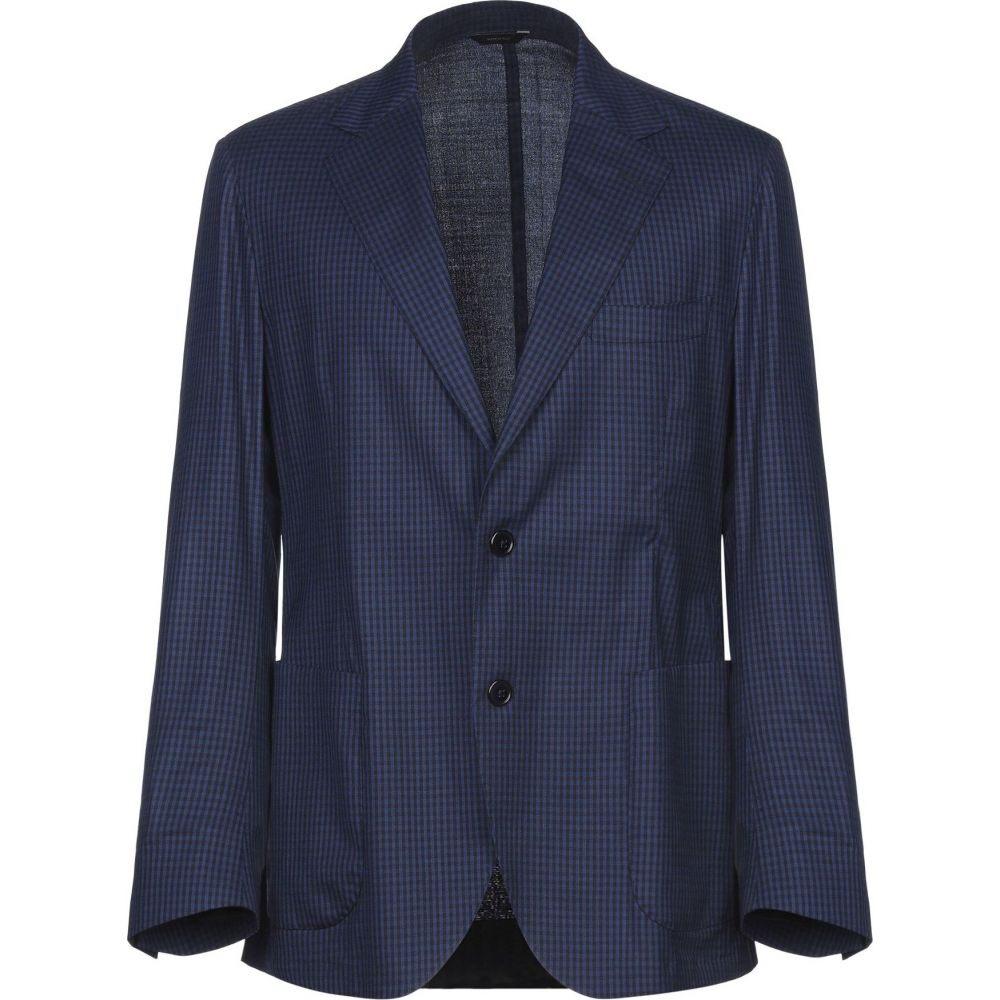 <title>トンボリーニ メンズ アウター スーツ ジャケット Dark blue ディスカウント サイズ交換無料 TOMBOLINI blazer</title>