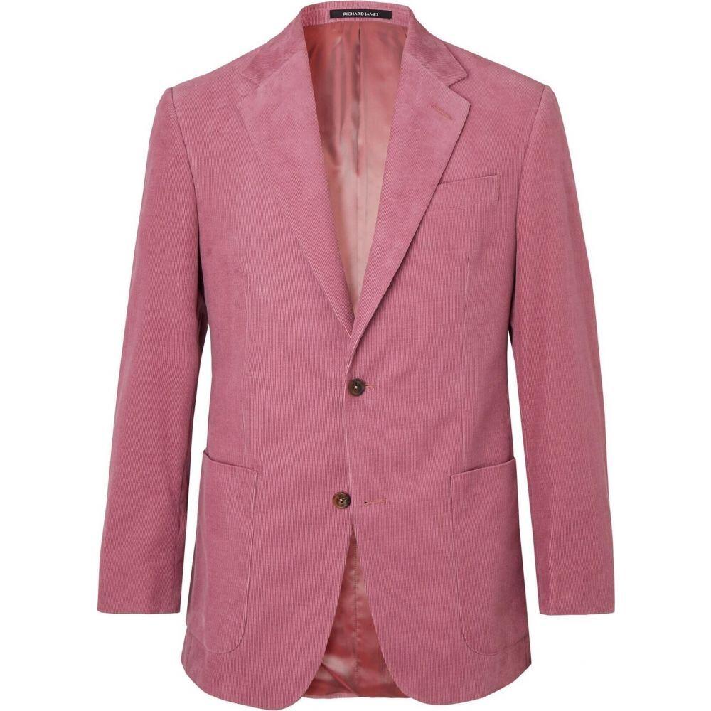【新品】 リチャード ジェームス RICHARD JAMES メンズ スーツ・ジャケット アウター【blazer】Pastel pink, アトリエクック 00c5541a