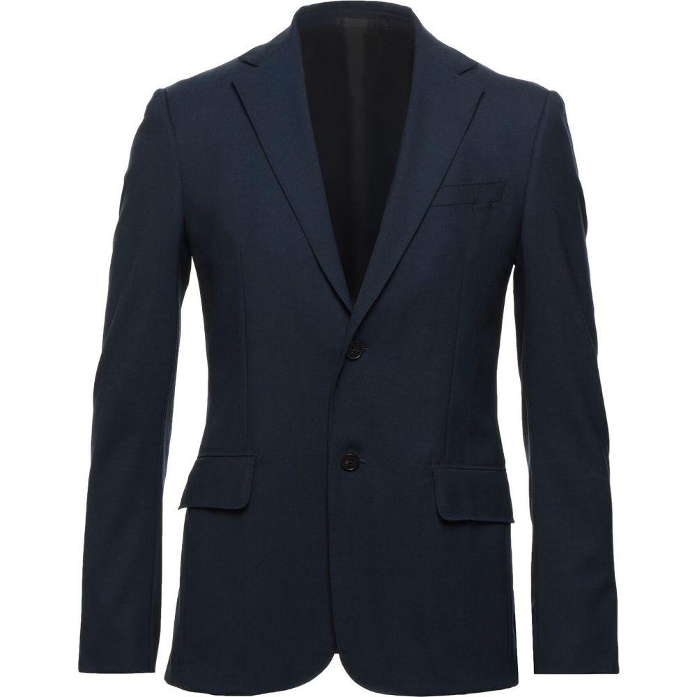 <title>ZZEGNA メンズ アウター スーツ 初売り ジャケット Dark blue サイズ交換無料 blazer</title>