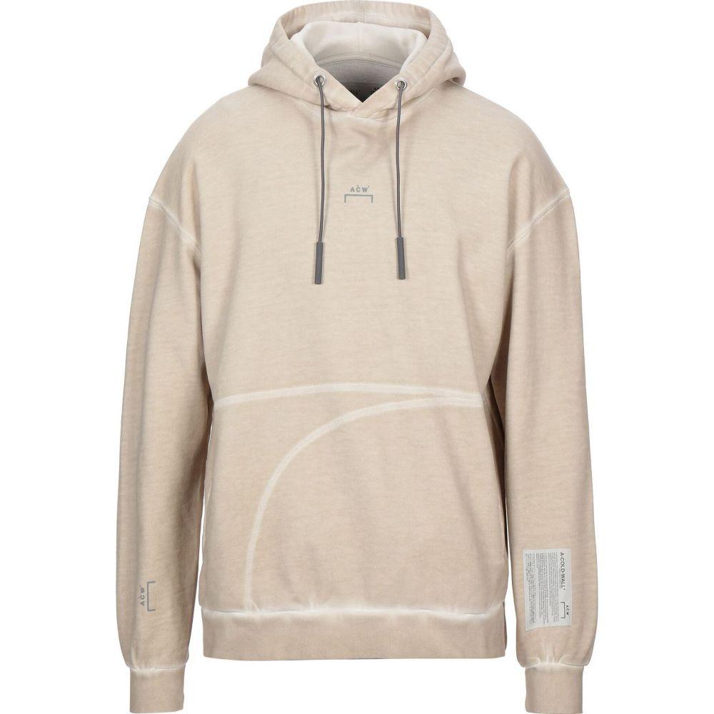 パーカー sweatshirt】Beige メンズ A-COLD-WALL* トップス【hooded アコールドウォール スウェット・トレーナー
