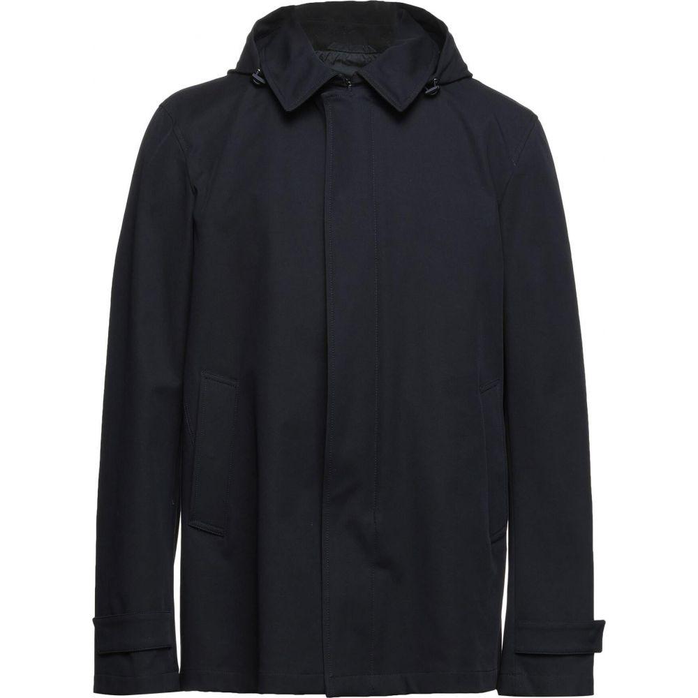 <title>ヘルノ メンズ アウター ジャケット 日時指定 Dark blue サイズ交換無料 HERNO full-length jacket</title>
