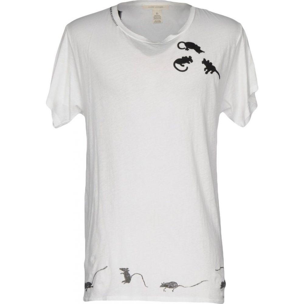 ジェイコブス JACOBS トップス【T-Shirt】White Tシャツ メンズ MARC マーク