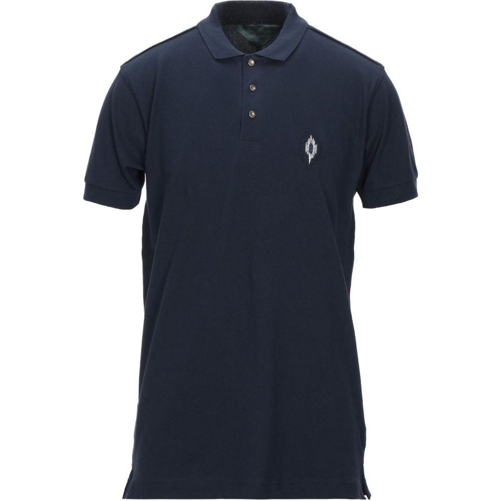メッサジェリエ MESSAGERIE GREEN FLAG メンズ ポロシャツ トップス【Polo Shirt】Dark blue