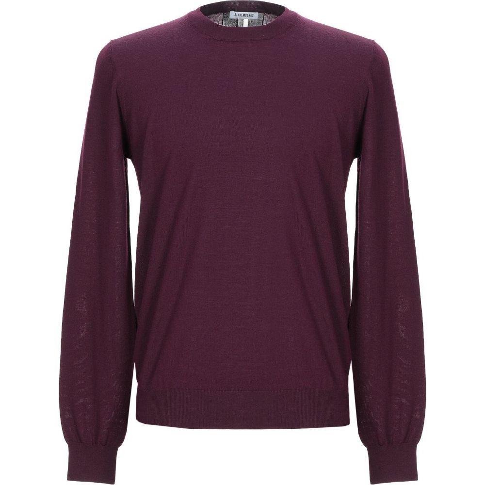 ビッケンバーグ BIKKEMBERGS メンズ ニット・セーター トップス【sweater】Deep purple