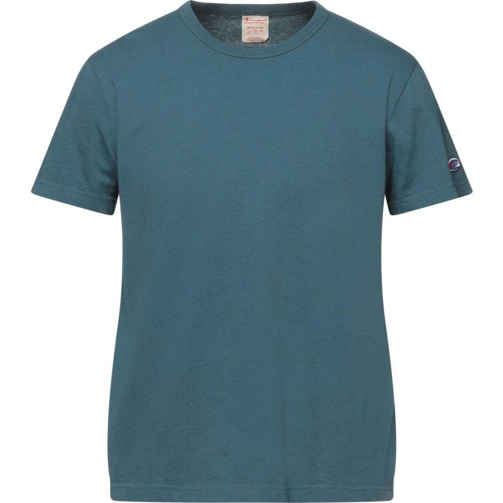 チャンピオン CHAMPION メンズ Tシャツ トップス【T-Shirt】Deep jade