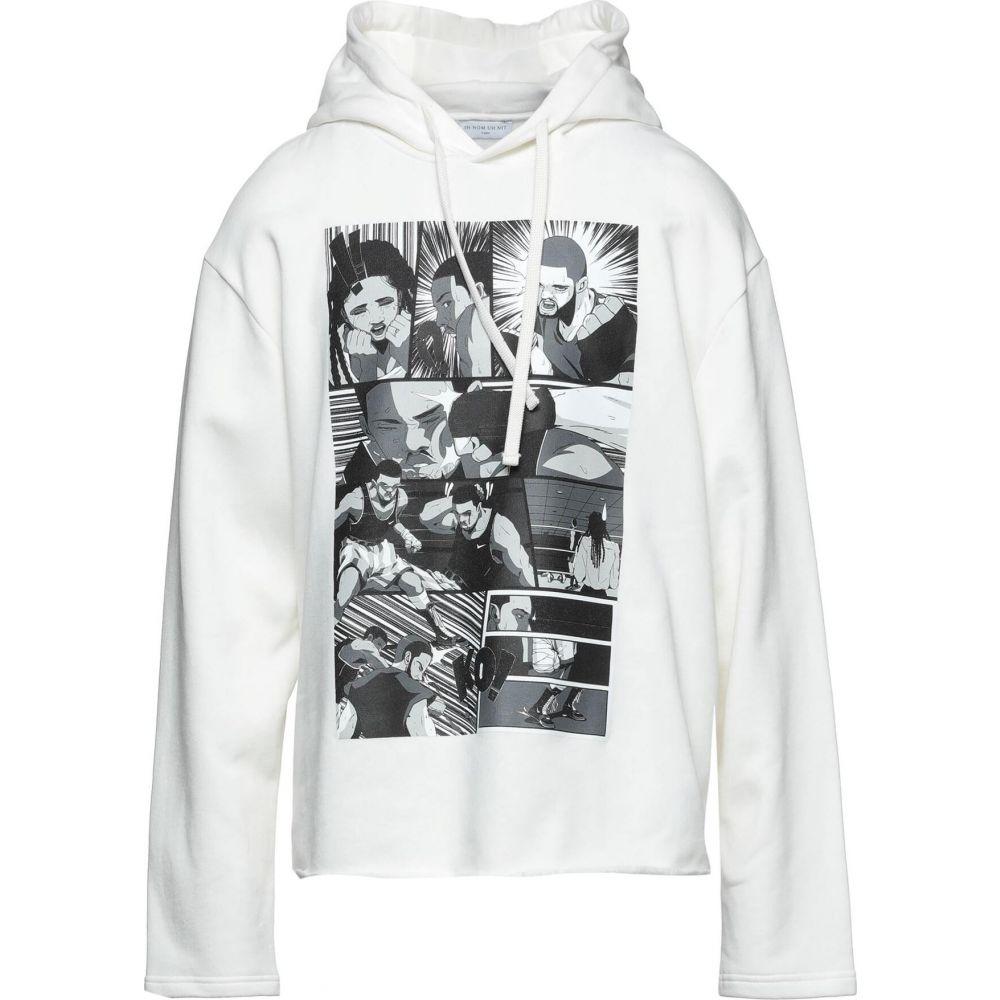 インノミネイト IH NOM UH NIT メンズ スウェット・トレーナー パーカー トップス【Hooded Sweatshirt】Ivory