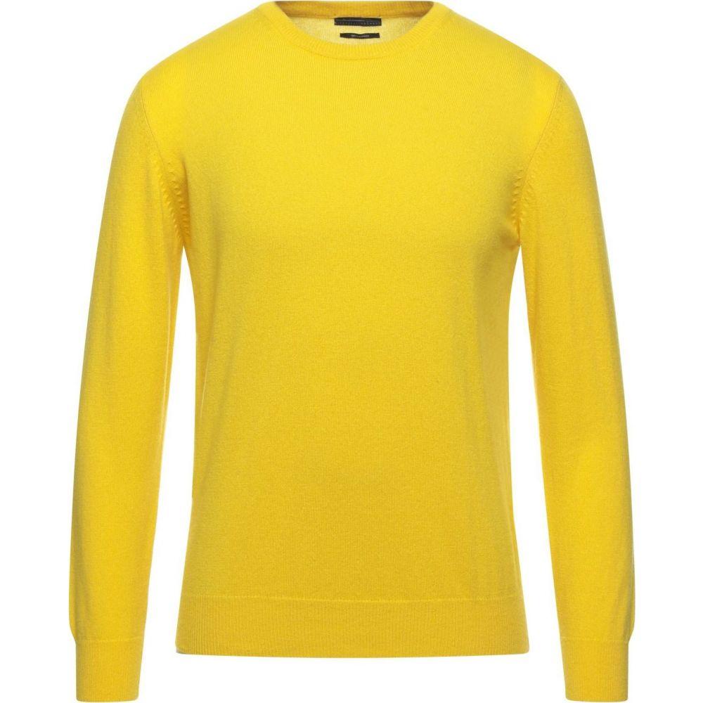 CLUB 39 メンズ ニット・セーター トップス【Cashmere Blend】Yellow