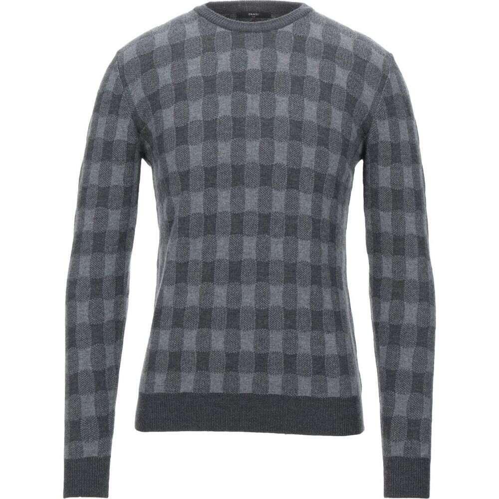ダンディ メンズ トップス ニット セーター 新色追加して再販 超歓迎された DANDI サイズ交換無料 sweater Lead