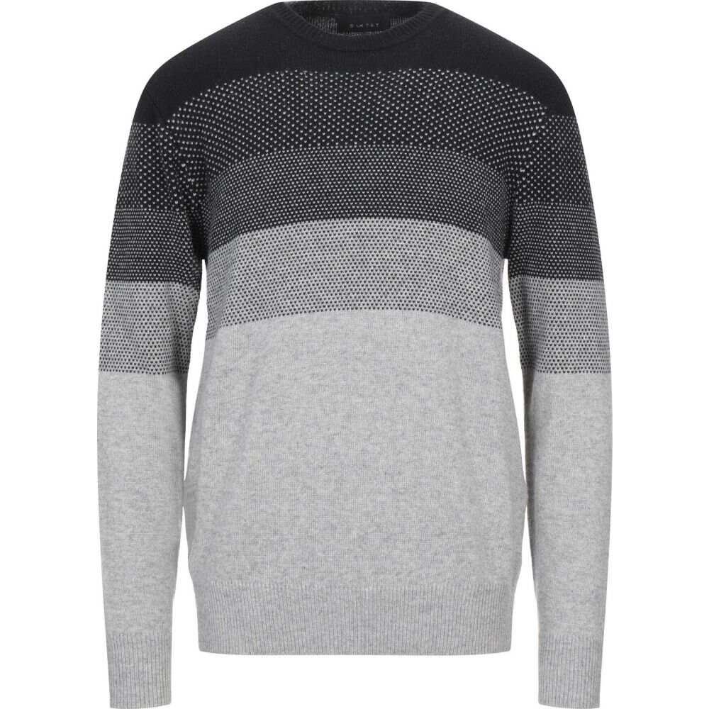 激安格安割引情報満載 ディクタット メンズ トップス ニット セーター DIKTAT サイズ交換無料 grey 未使用品 sweater Light