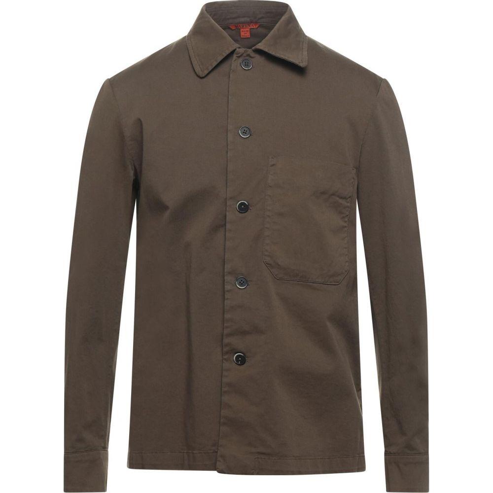 バレナ BARENA メンズ シャツ トップス【Solid Color Shirt】Military green