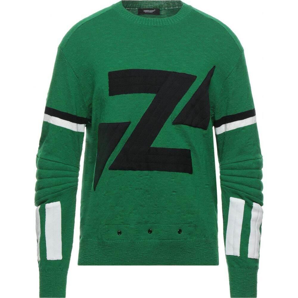 アンダーカバー UNDERCOVER メンズ ニット・セーター トップス【Sweater】Green