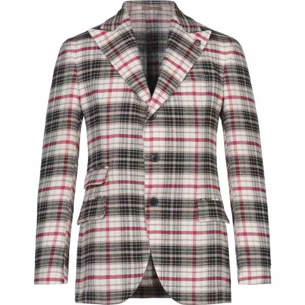 ガブリエレ パジーニ GABRIELE PASINI メンズ スーツ・ジャケット アウター【Blazer】Beige
