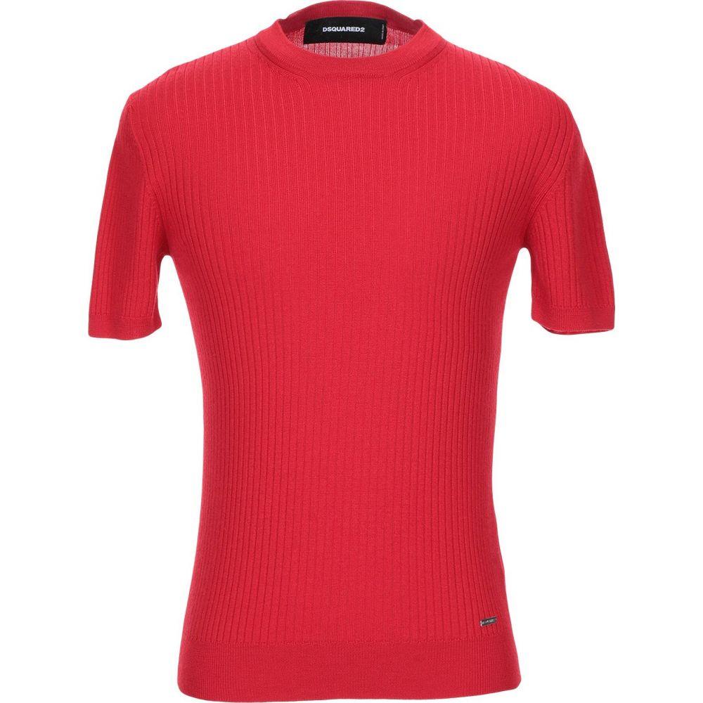 ディースクエアード DSQUARED2 メンズ ニット セーター トップス sweater Red 新年会 売れ行き好調 お祝い 父の日 年末年始のご挨拶 あす楽(翌日配送)について 売れ行き好調