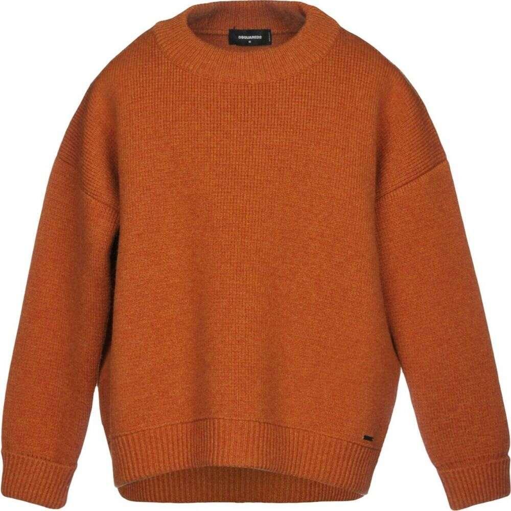 ディースクエアード DSQUARED2 メンズ ニット セーター トップス sweater Rust 返品・交換について ハロウィン 音楽会 お礼 銀婚式