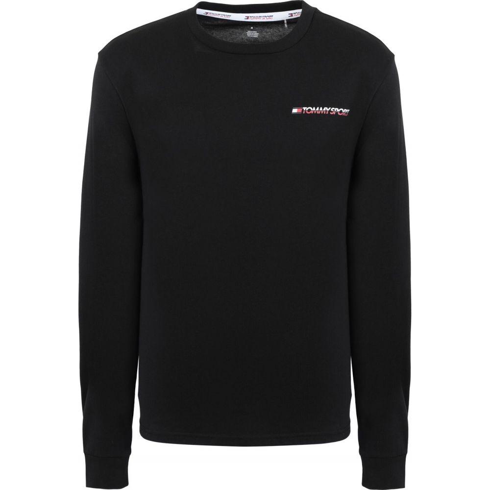 トミーヒルフィガー TOMMY SPORT メンズ Tシャツ トップス【core】Black