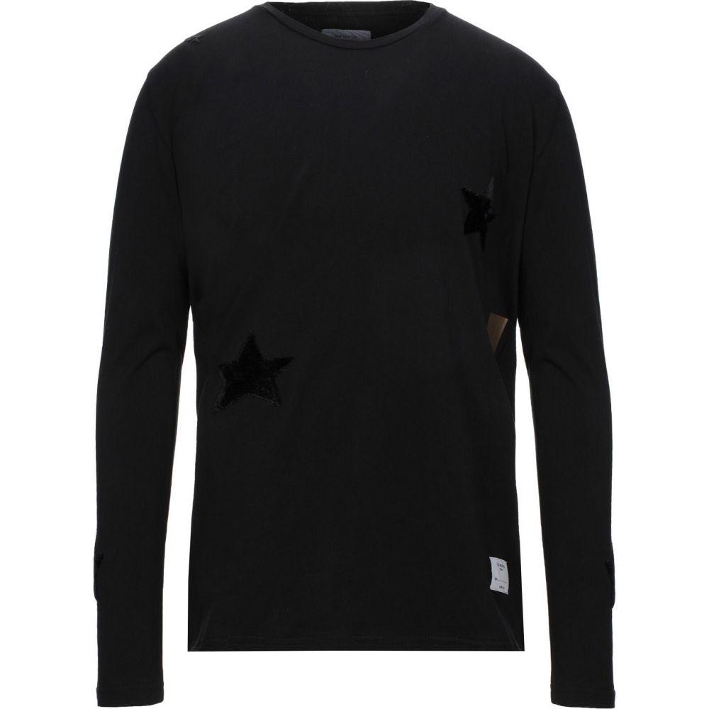 ジエディター THE EDITOR メンズ Tシャツ トップス【t-shirt】Black