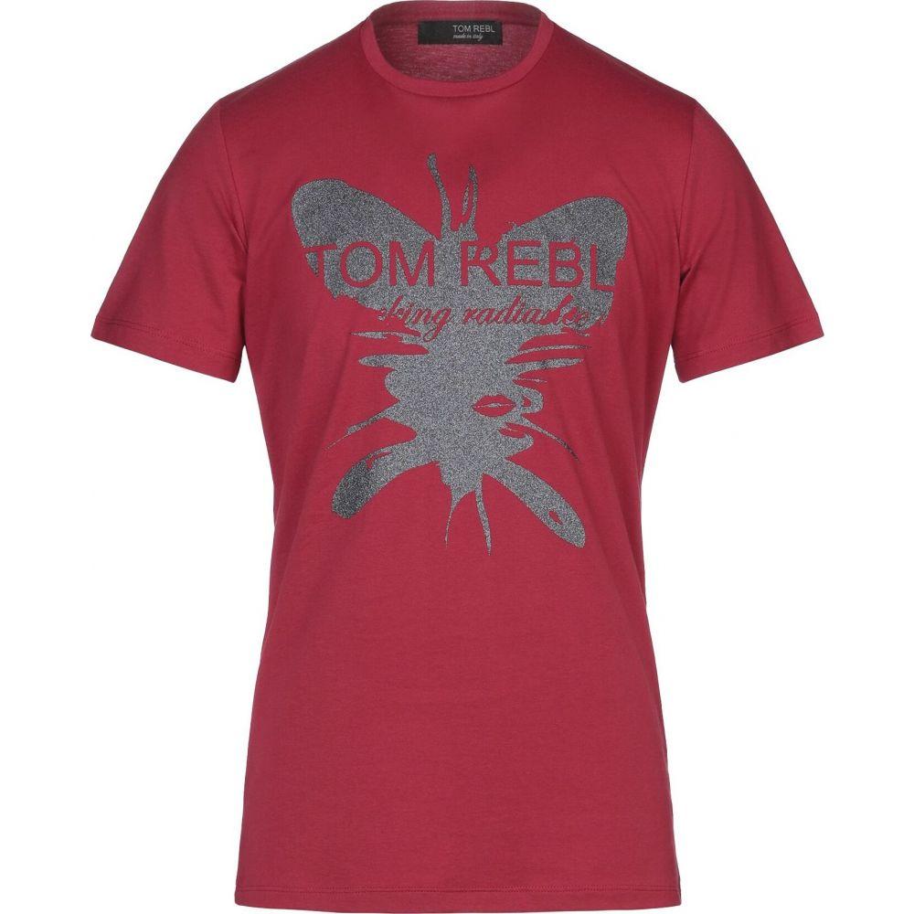トム レベル TOM REBL メンズ Tシャツ トップス【t-shirt】Red