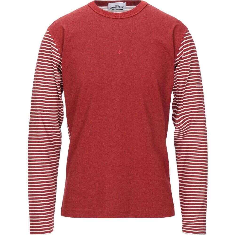 ストーンアイランド STONE ISLAND メンズ Tシャツ トップス【t-shirt】Brick red