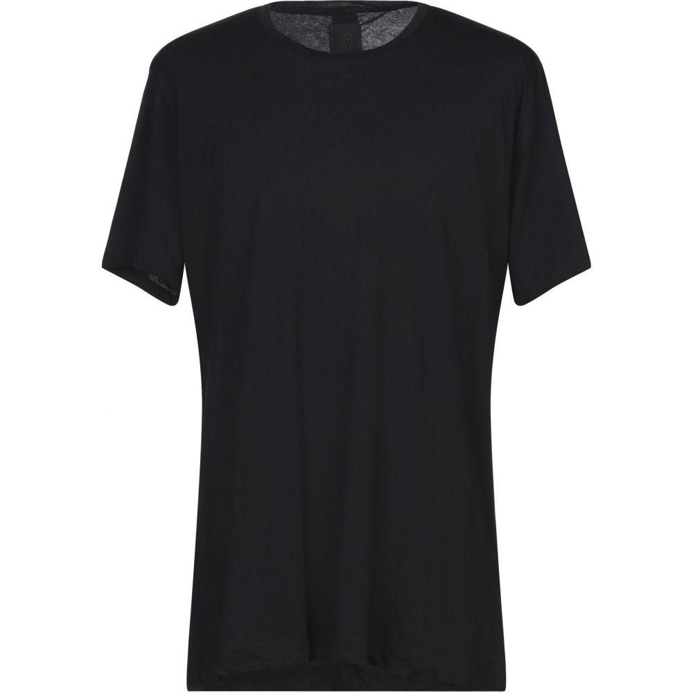トム クロム THOM KROM メンズ Tシャツ トップス【t-shirt】Black