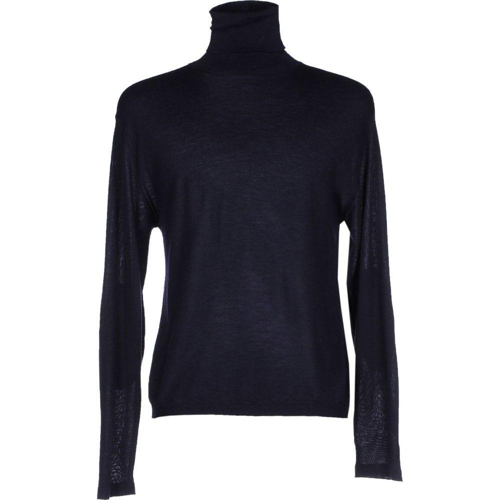 ゴールデン グース メンズ トップス 人気の定番 ニット セーター Dark blue セール blend GOOSE BRAND cashmere GOLDEN サイズ交換無料 DELUXE