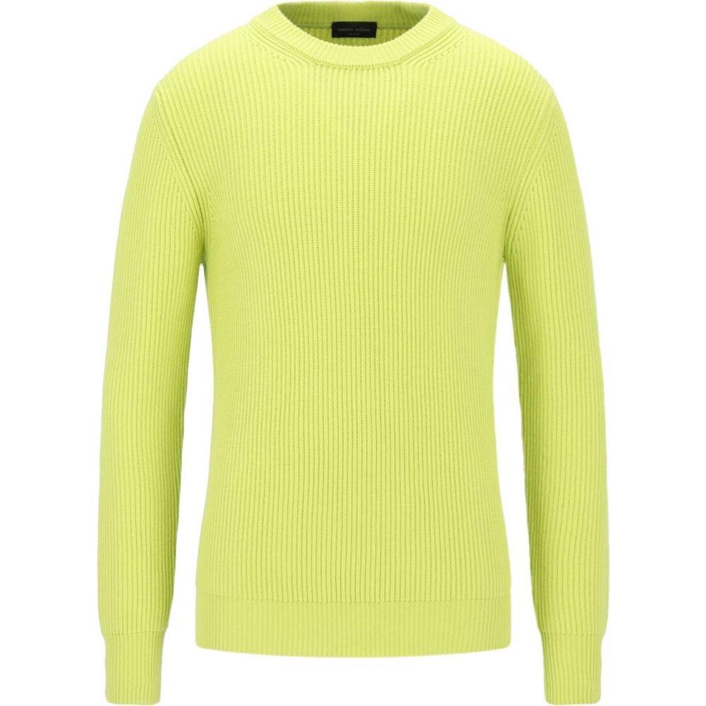 ロベルトコリーナ ROBERTO COLLINA メンズ ニット・セーター トップス【Sweater】Acid green