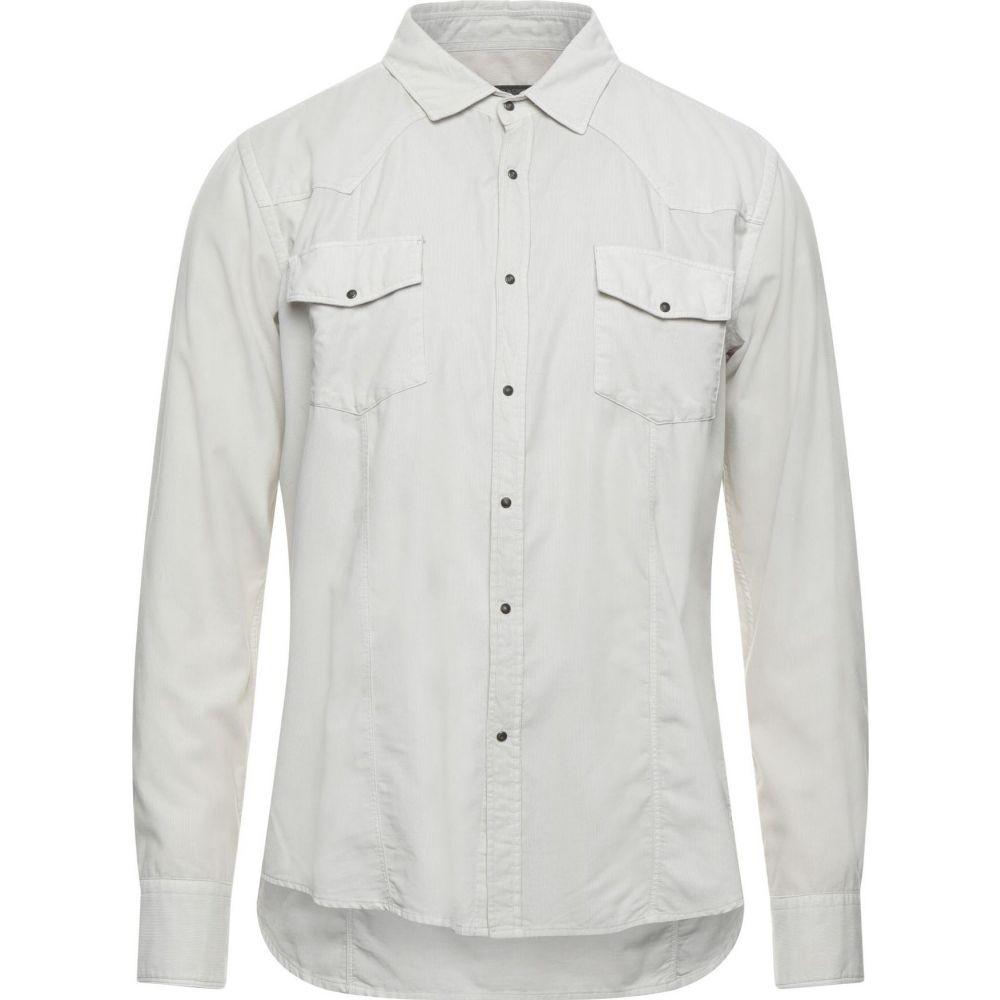 メッサジェリエ メンズ トップス シャツ Beige Solid ☆正規品新品未使用品 MESSAGERIE Color お歳暮 サイズ交換無料 Shirt