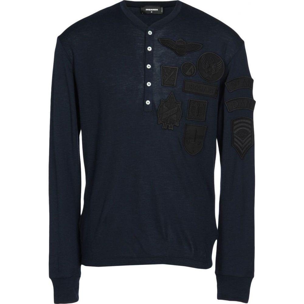 ディースクエアード DSQUARED2 メンズ Tシャツ トップス【t-shirt】Dark blue