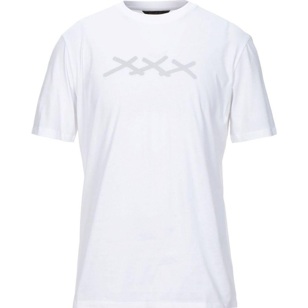 エルメネジルド ゼニア ERMENEGILDO ZEGNA メンズ Tシャツ トップス【t-shirt】White