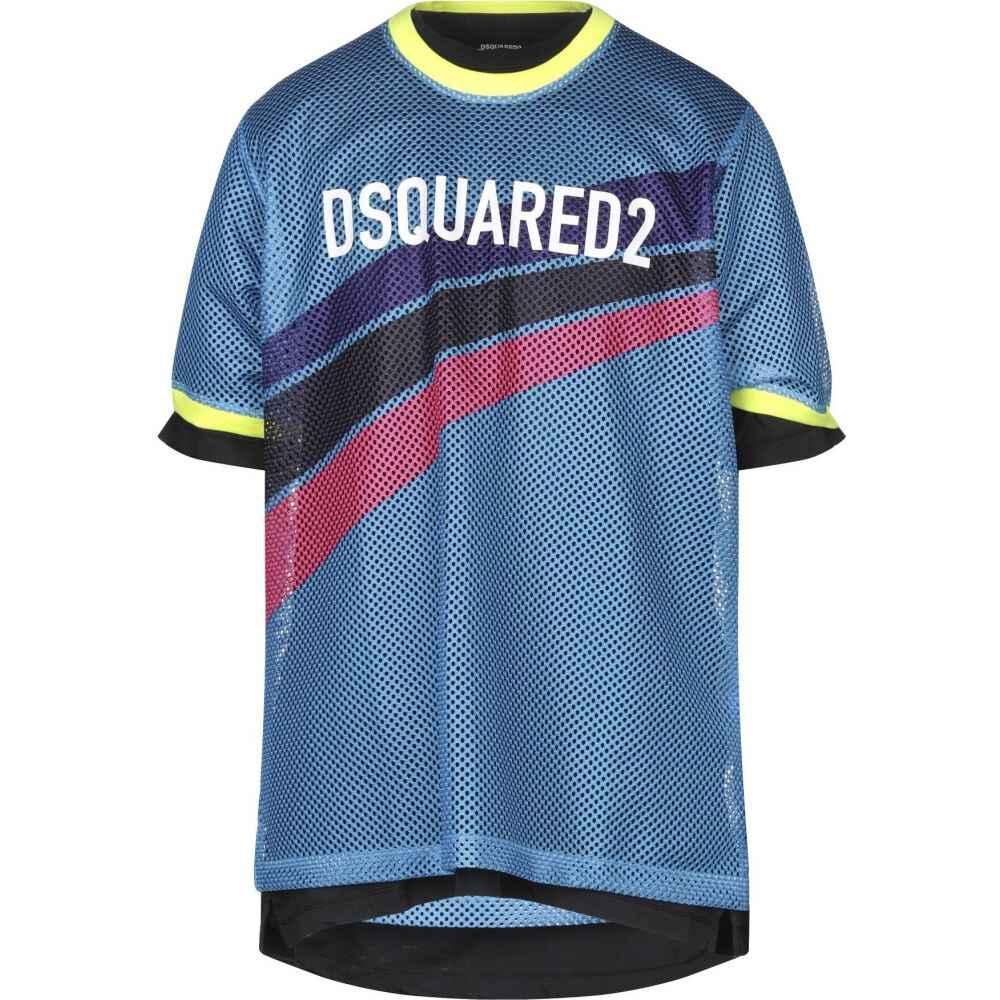 ディースクエアード DSQUARED2 メンズ Tシャツ トップス【t-shirt】Azure