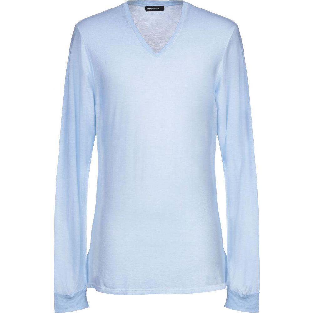 ディースクエアード DSQUARED2 メンズ Tシャツ トップス【t-shirt】Sky blue