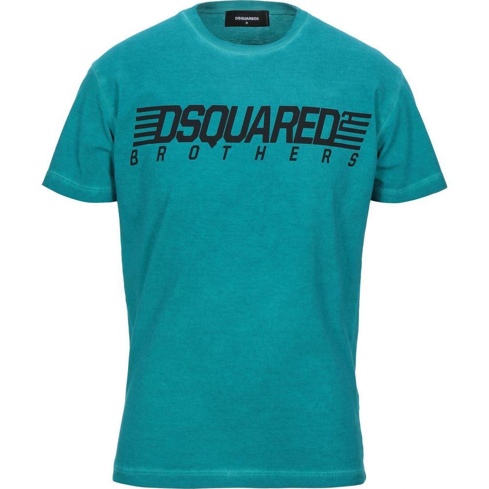 ディースクエアード DSQUARED2 メンズ Tシャツ トップス【t-shirt】Deep jade