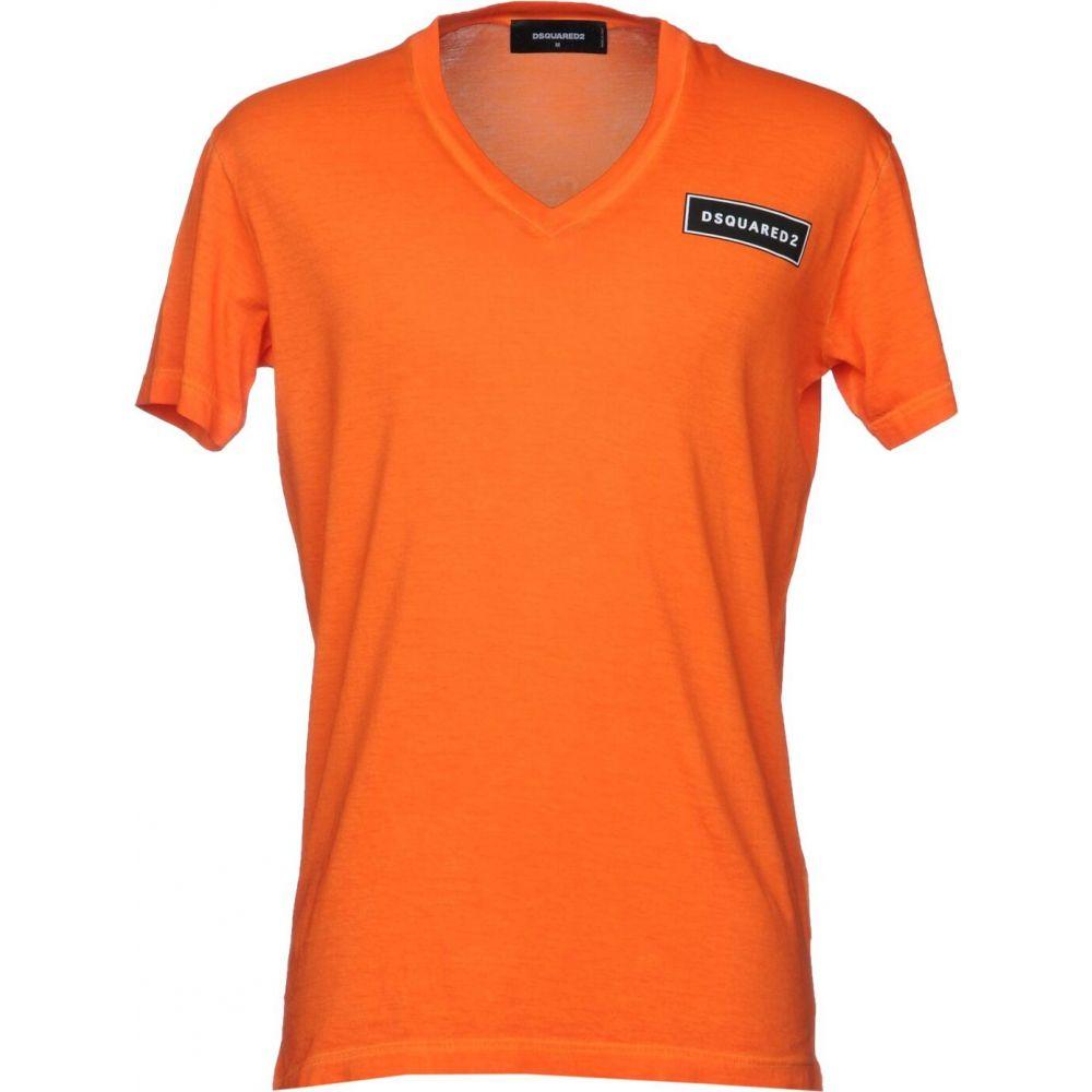 ディースクエアード DSQUARED2 メンズ Tシャツ トップス t-shirt Orange 景品 お支払い方法について 当店おすすめ 粗品 祝成人 年末バーゲン