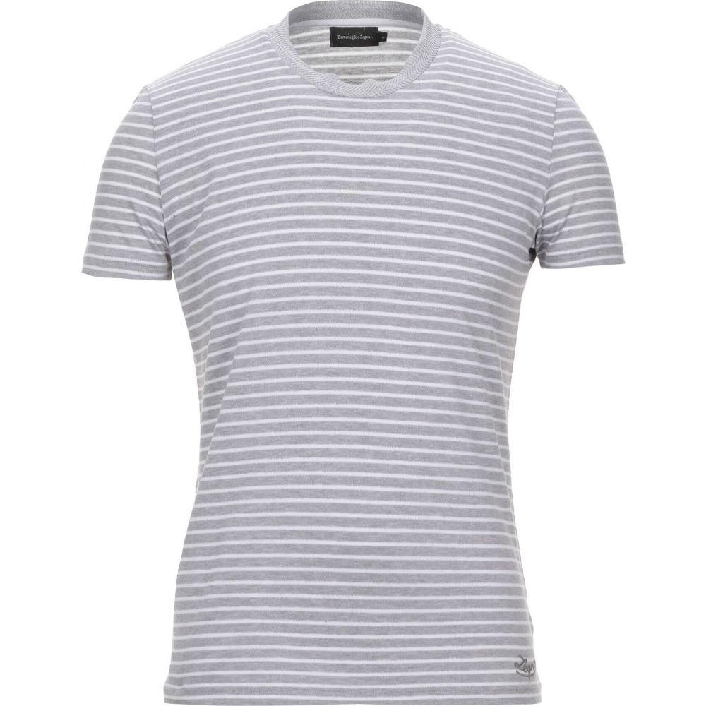 エルメネジルド ゼニア ERMENEGILDO ZEGNA メンズ Tシャツ トップス【t-shirt】Grey