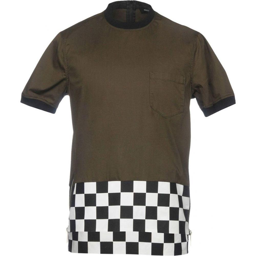 ディースクエアード DSQUARED2 メンズ Tシャツ トップス【t-shirt】Military green