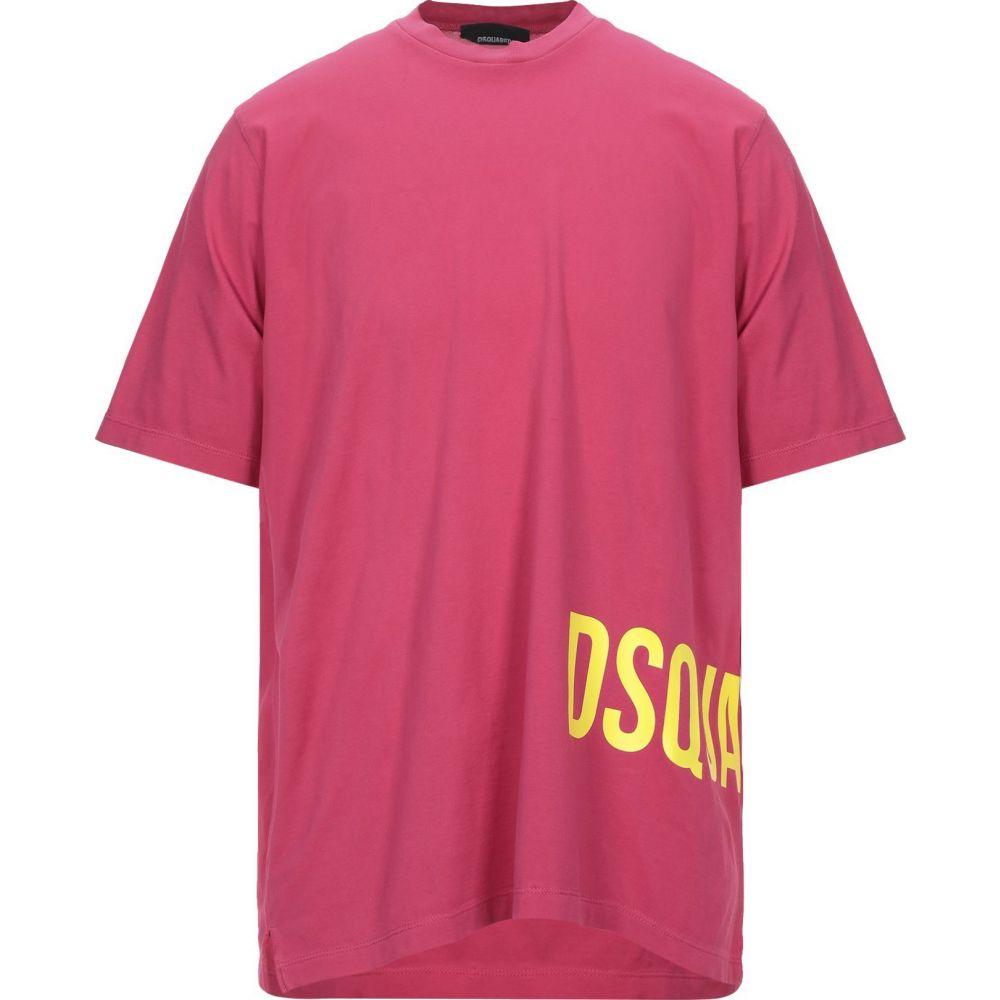ディースクエアード DSQUARED2 メンズ Tシャツ トップス【t-shirt】Fuchsia