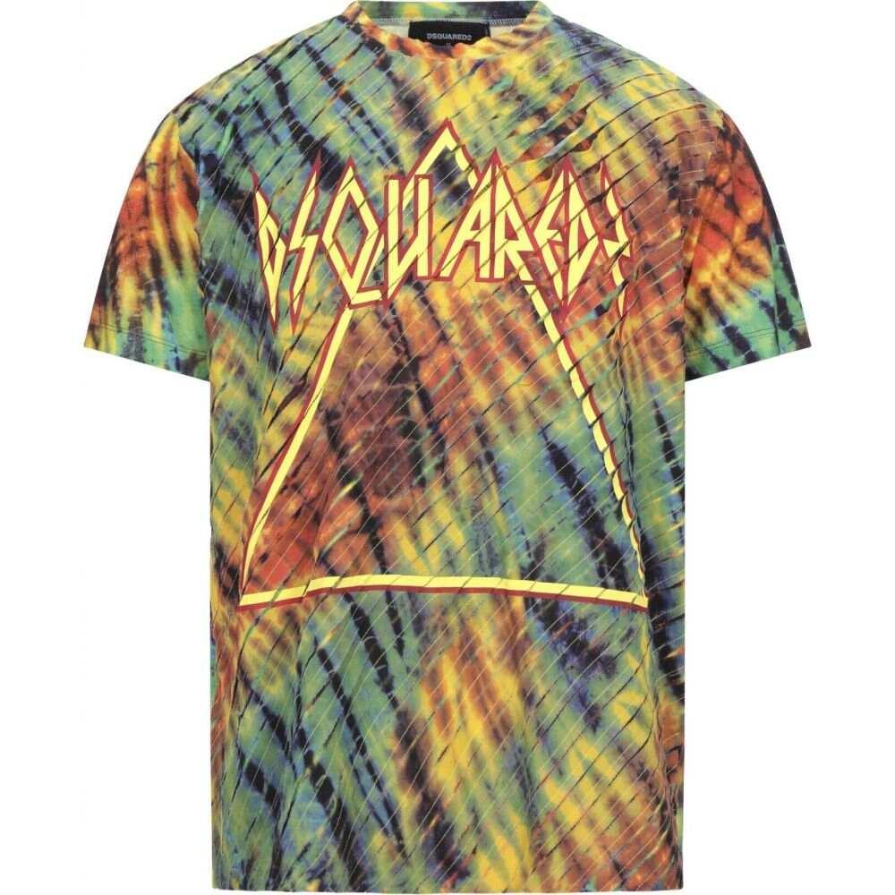 ディースクエアード DSQUARED2 メンズ Tシャツ トップス【t-shirt】Yellow