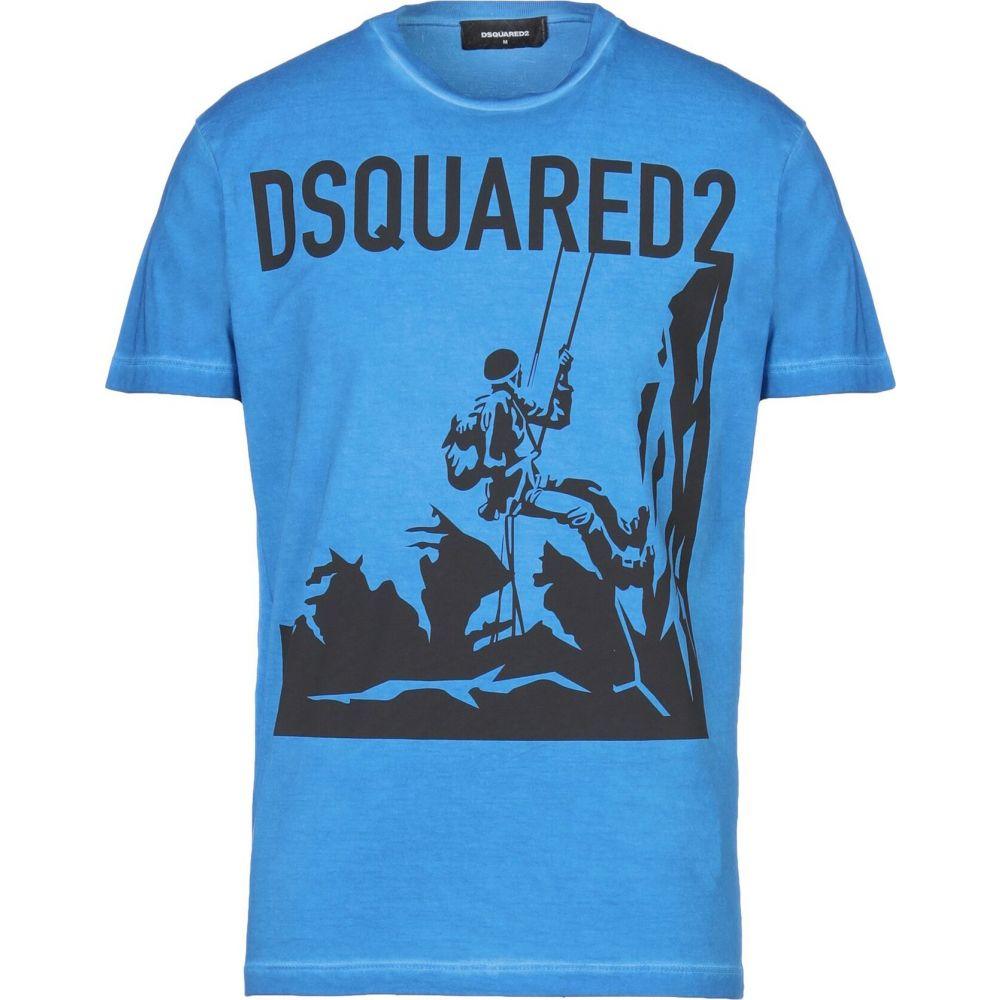 ディースクエアード DSQUARED2 メンズ Tシャツ トップス【t-shirt】Bright blue