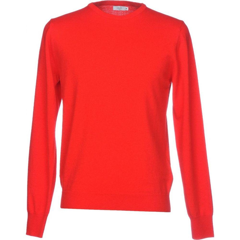 リウジョー LIU JO MAN メンズ ニット・セーター トップス【sweater】Red