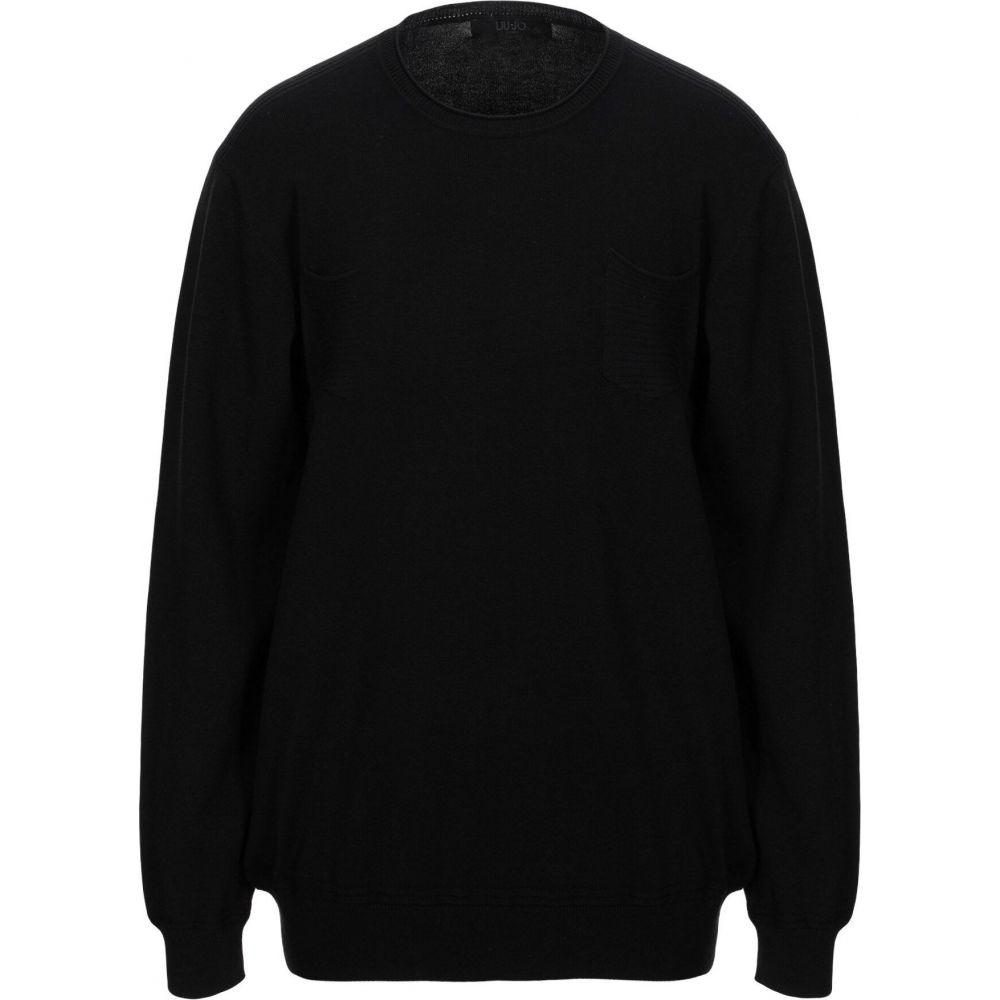 リウジョー メンズ トップス セール 登場から人気沸騰 ニット セーター 爆安プライス Black MAN sweater JO LIU サイズ交換無料