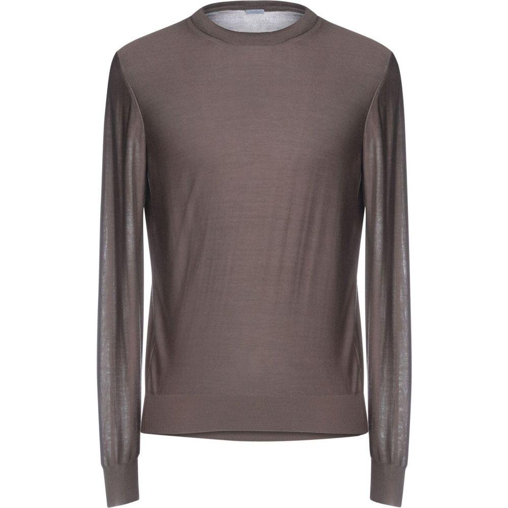 マーロ MALO メンズ ニット・セーター トップス【sweater】Dark brown